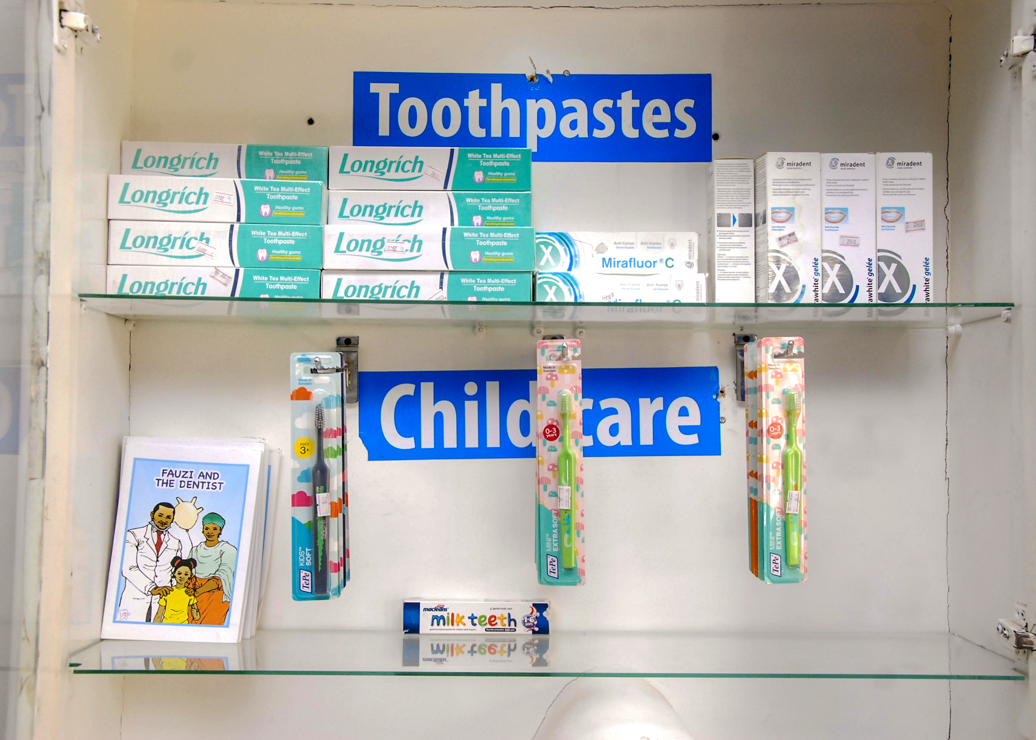 Childcare Toothpastes